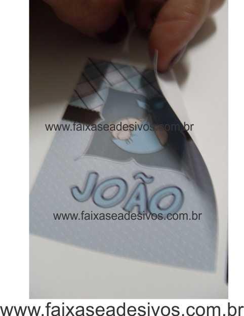 Etiqueta para Lembrancinha 7x7cm - Qualquer tema - RE106  - Fac Signs