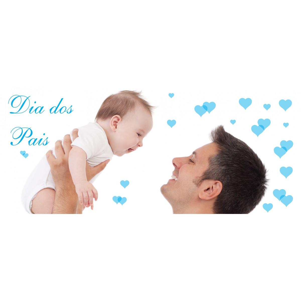 Adesivo Dia dos Pais - 1,20x0,30m - P227  - Fac Signs