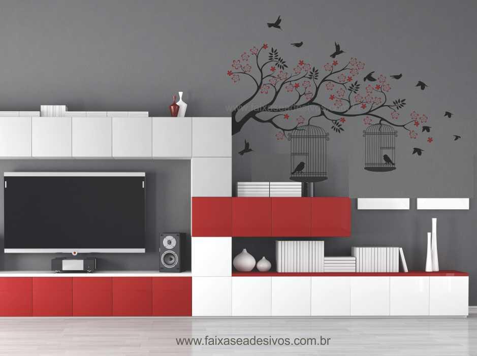 Galho Adesivo Decorativo Ao Vento - Escolha o tamanho - R089  - FAC Signs Impressão Digital