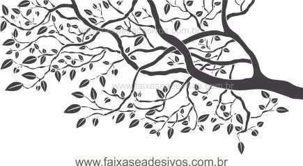 Adesivo Decorativo Galho de Arvore - R091  - Fac Signs