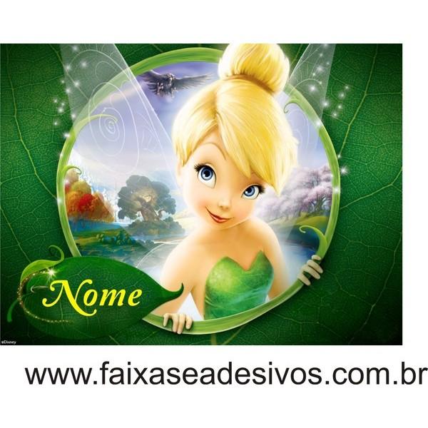 Sininho Painel Decorativo 120x85cm  - FAC Signs Impressão Digital
