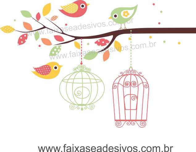 Galho de Algodão Doce Adesivo Decorativo - Escolha Tamanho - R099  - Fac Signs