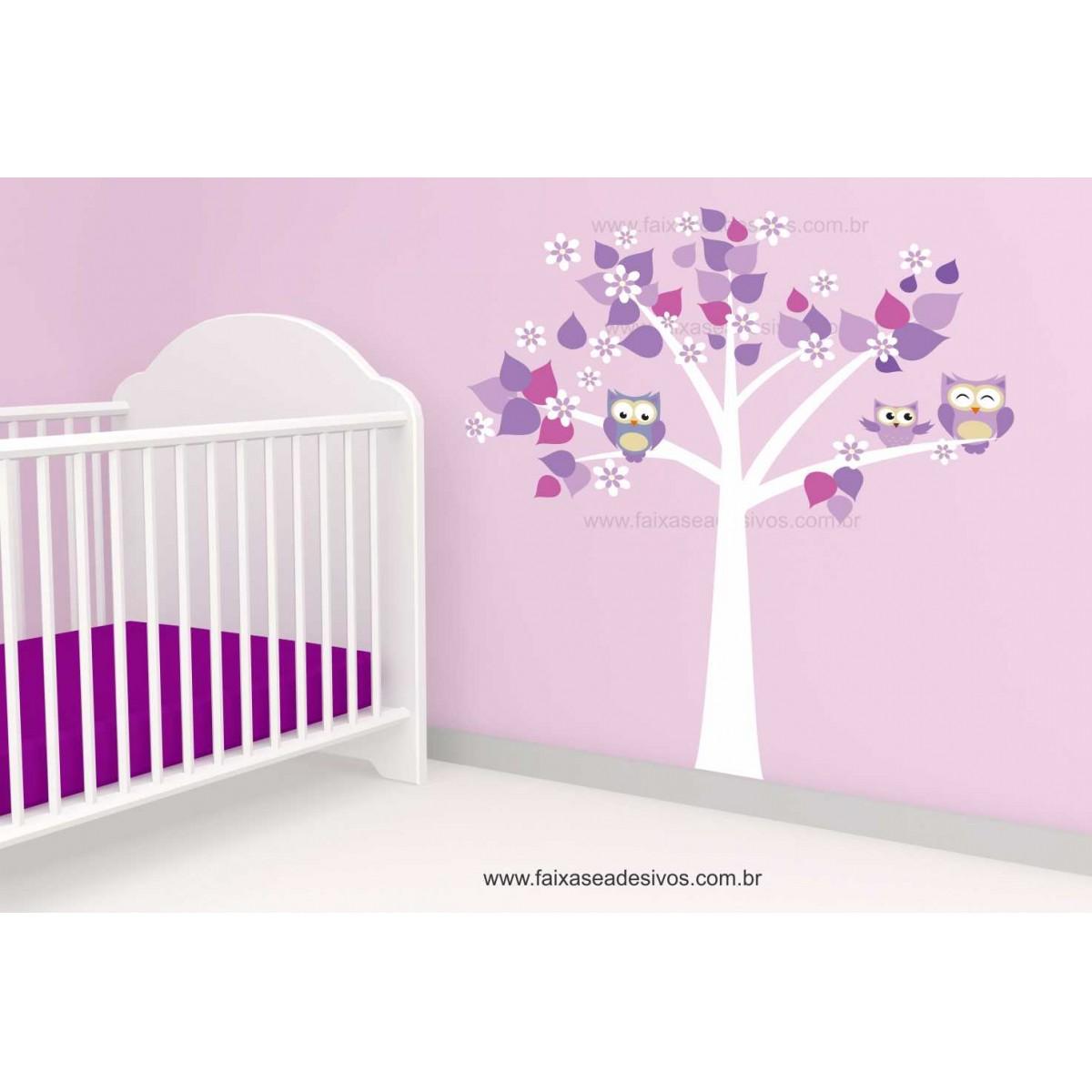 Arvore Adesivo Decorativo Cuida do Sono - Escolha Tamanho - R085  - FAC Signs Impressão Digital