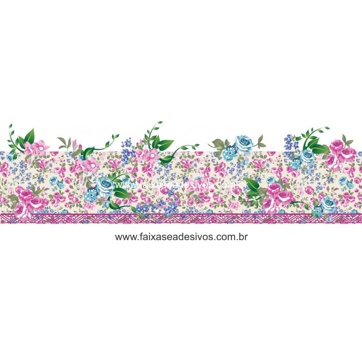 Adesivo de Vitrine Primavera Floral - B103  - Fac Signs