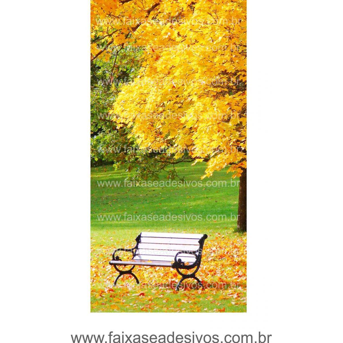 Lona Outono Inverno para painel decorativo de parede - P2215  - Fac Signs