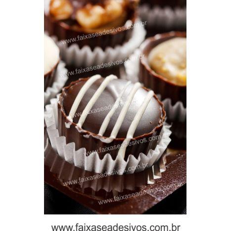 AP435 - Adesivo Decorativo FOTO de Chocolate  - Fac Signs