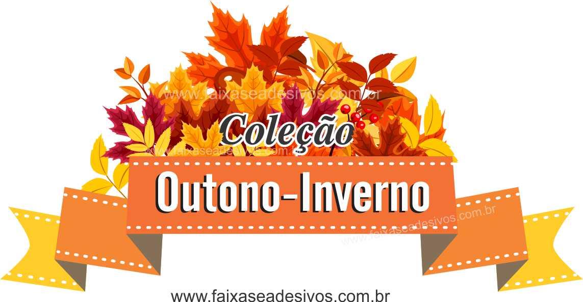 A612 - Adesivo Outono Inverno - Flamula  - Fac Signs