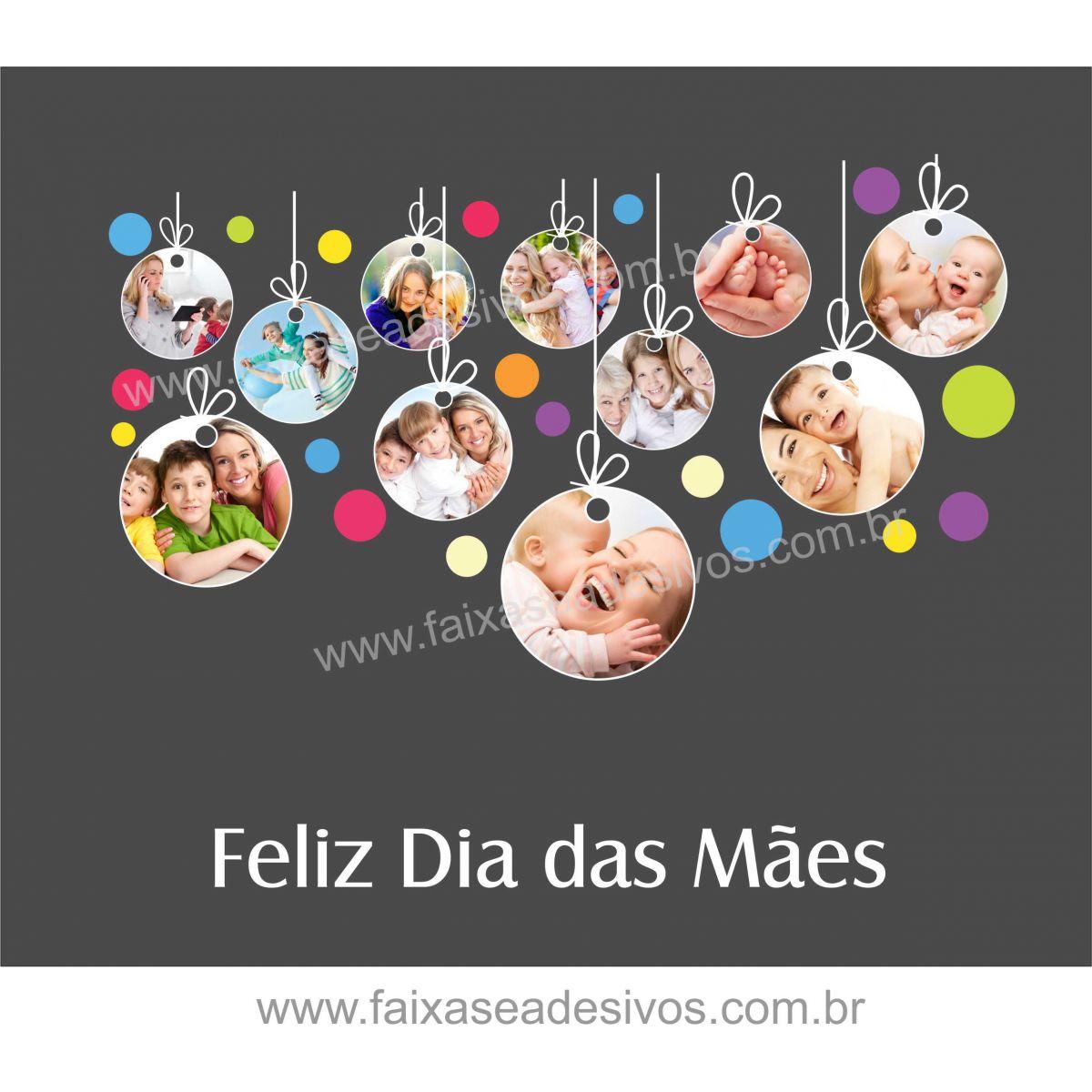 A525M - Adesivo Dia das Mães - Tags de fotos  - Fac Signs