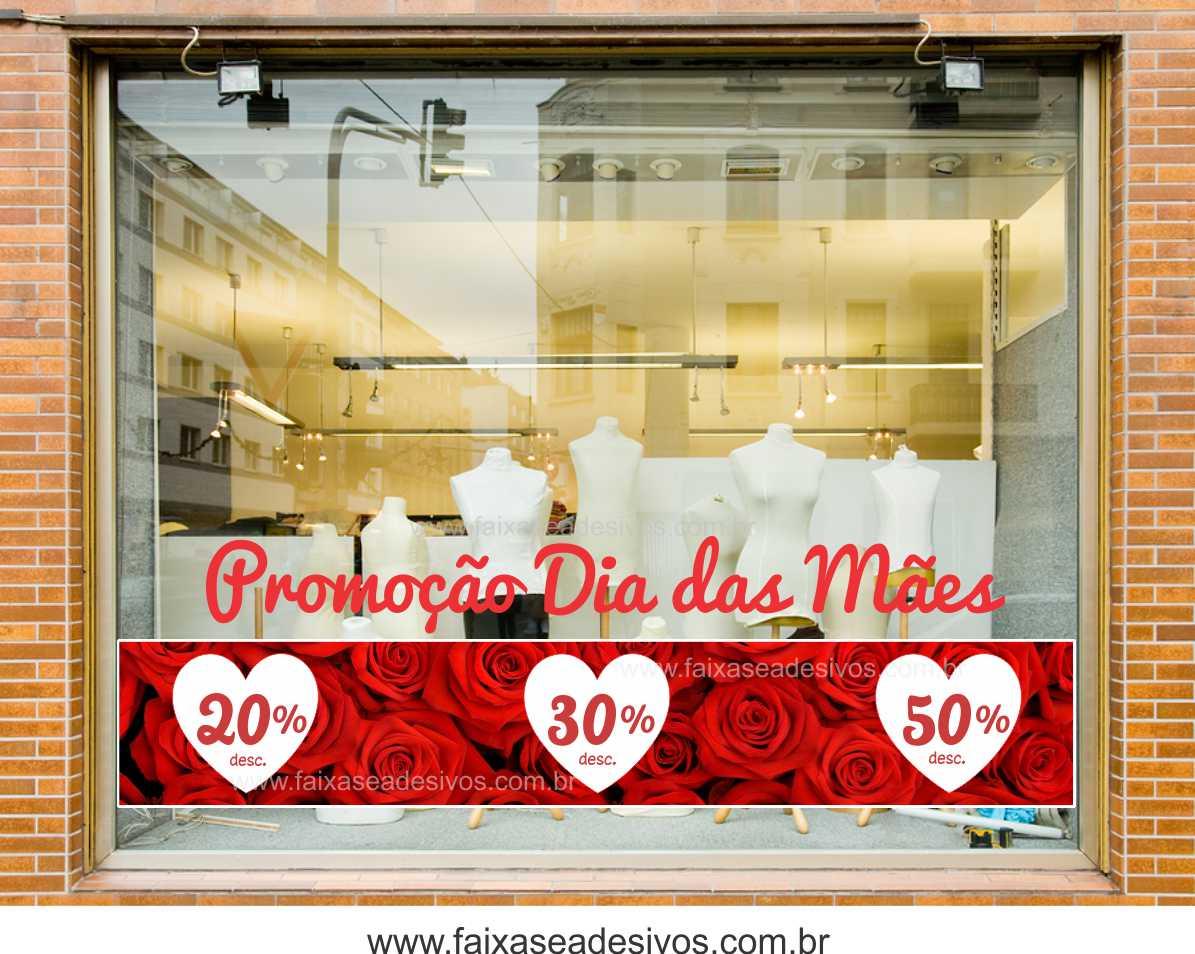 A530M - Adesivo Dia das Mães - Promoção  - Fac Signs