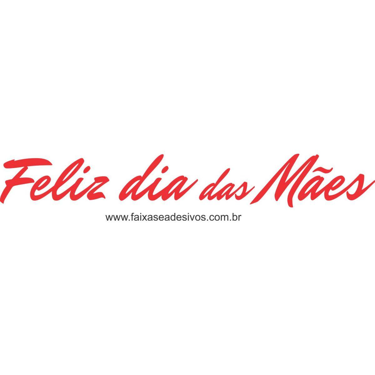 A537M - Adesivo Dia das Mães - Frase para lojas  - Fac Signs
