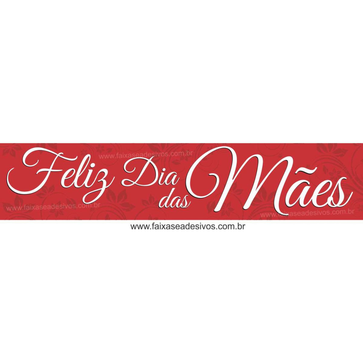 A540M - Adesivo Dia das Mães - Faixa adesiva arabesco  - Fac Signs