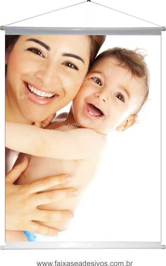B625M - Dia das Mães - Banner em lona Alta Definição  - Fac Signs