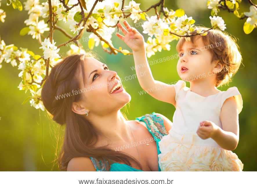 B628M - Dia das Mães - Impressão em Lona  Alta Definição  - Fac Signs
