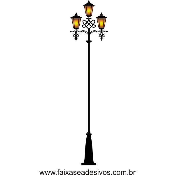 Adesivo Decorativo Poste de Luz 1,80 x 0,40m  - Fac Signs