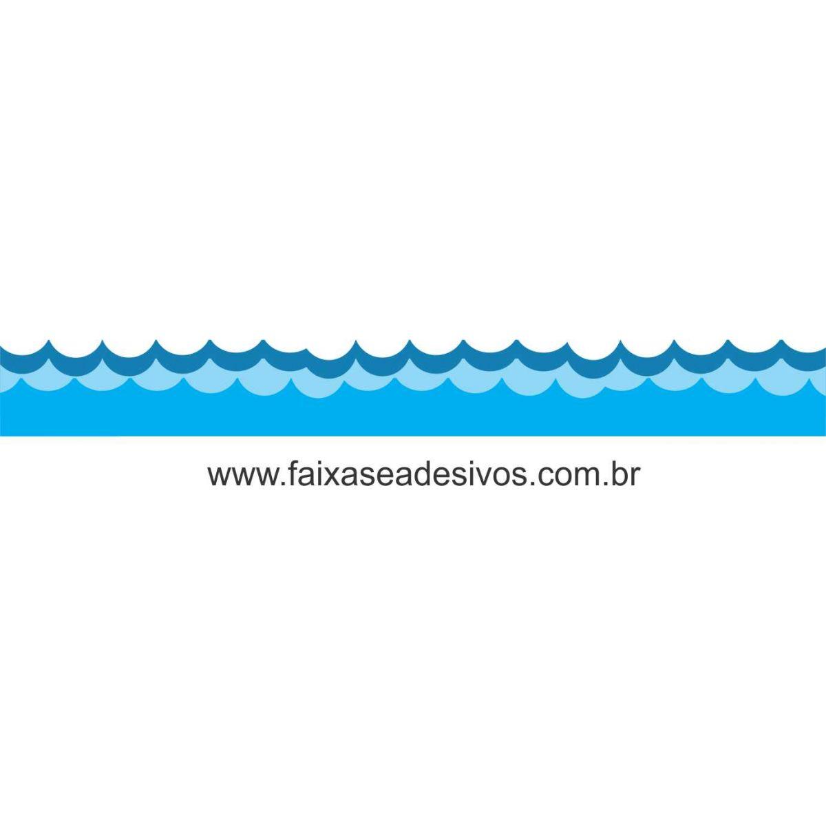 A706 - Dia das Crianças - Adesivo Náutico Infantil barrado de água A  - Fac Signs