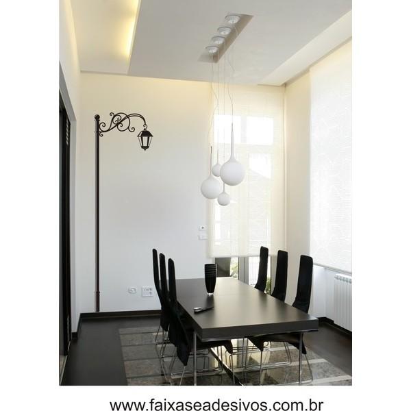 Adesivo Decorativo Luminária 1,60 x 0,50m  - FAC Signs Impressão Digital
