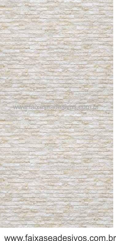 002 - Adesivo Decorativo de parede canjiquinha reta - 42cm largura rolo com 3 metros  - FAC Signs Impressão Digital