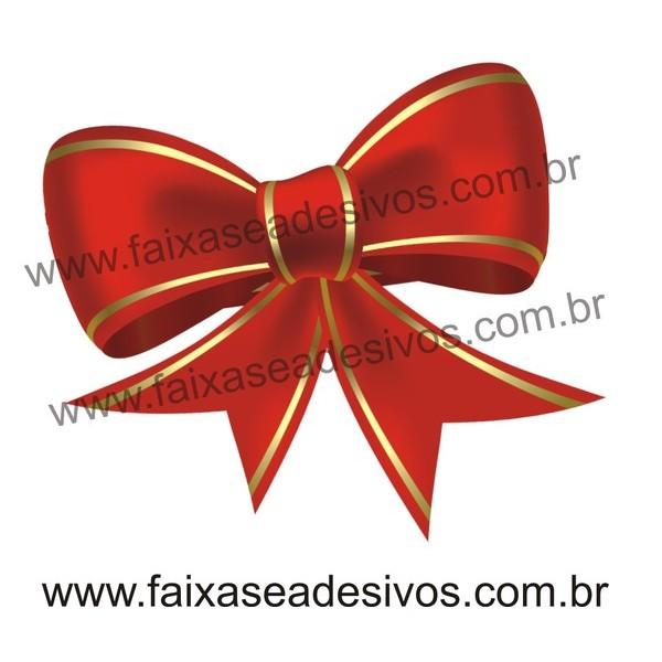 Laço Adesivo impresso 80x60cm  - FAC Signs Impressão Digital