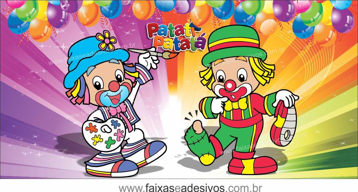 Painel de Aniversário 220 - Patati Patata 1  - Fac Signs