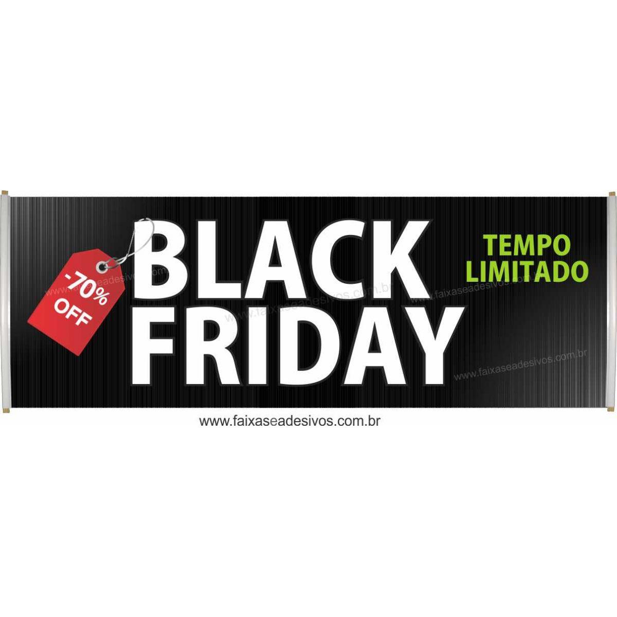 111- Black Friday - Faixa  - Fac Signs
