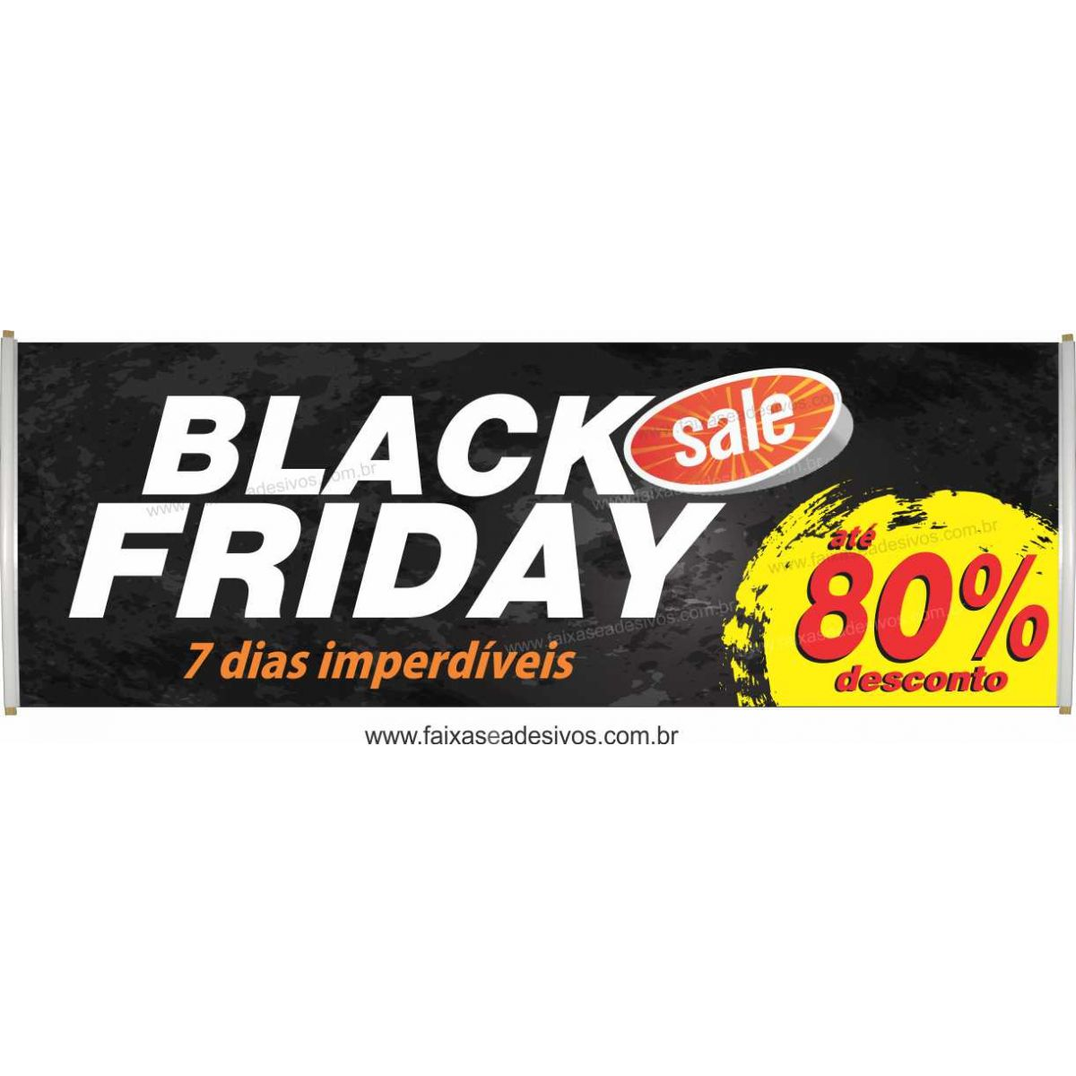 112- Black Friday - Faixa  - Fac Signs