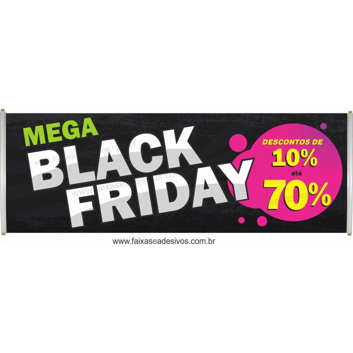 115- Black Friday - Faixa  - Fac Signs