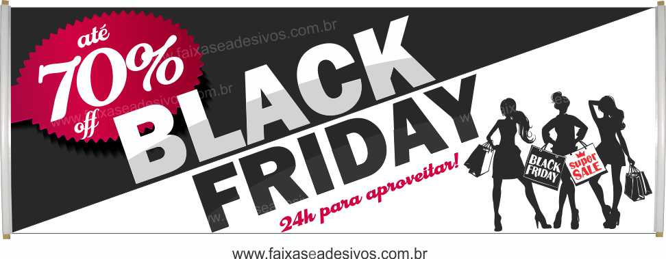 118- Black Friday - Faixa  - Fac Signs