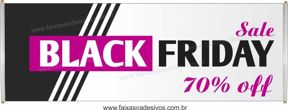 119- Black Friday - Faixa  - Fac Signs