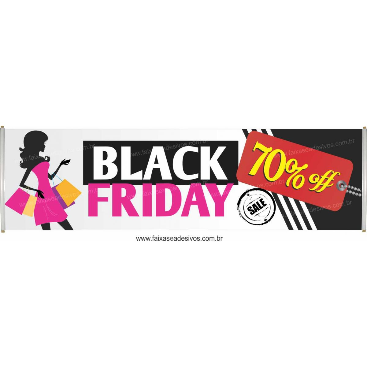 120- Black Friday - Faixa  - Fac Signs