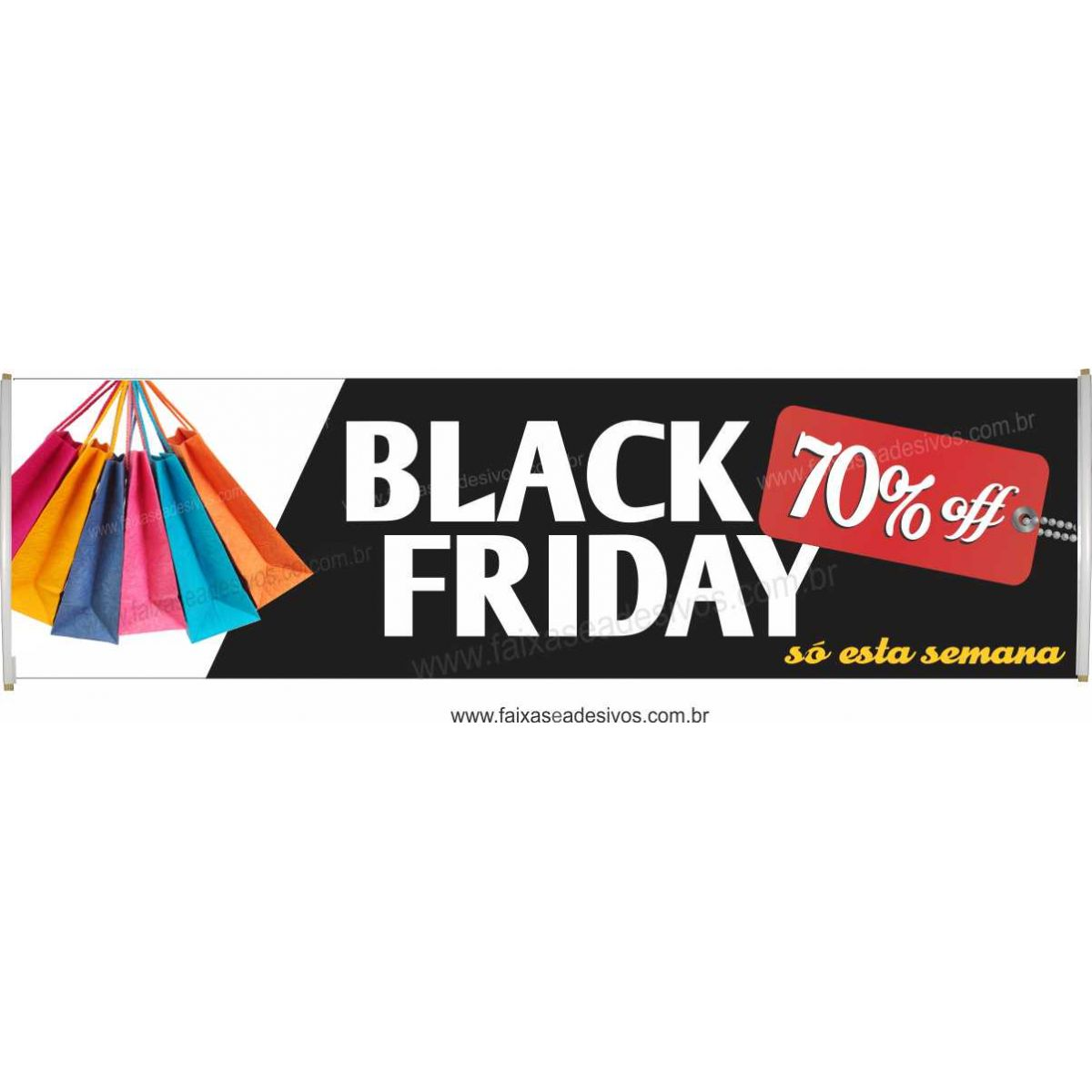121- Black Friday - Faixa  - Fac Signs