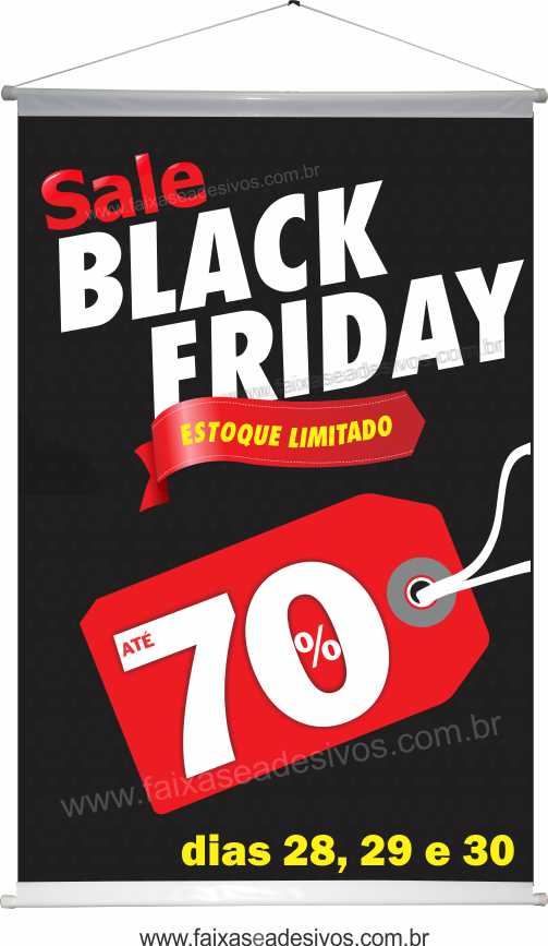 116- Black Friday - Banner  - Fac Signs