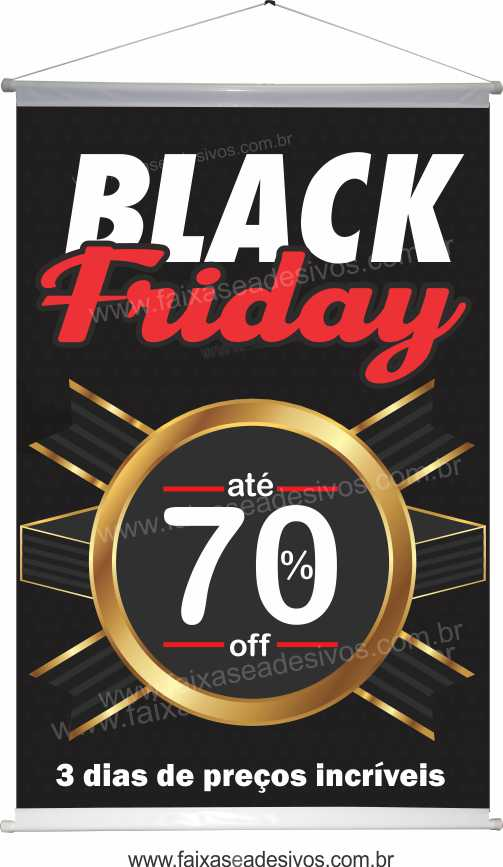 117- Black Friday - Banner  - Fac Signs