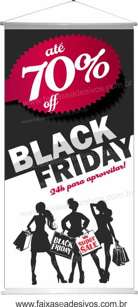118- Black Friday - Banner  - FAC Signs Impressão Digital