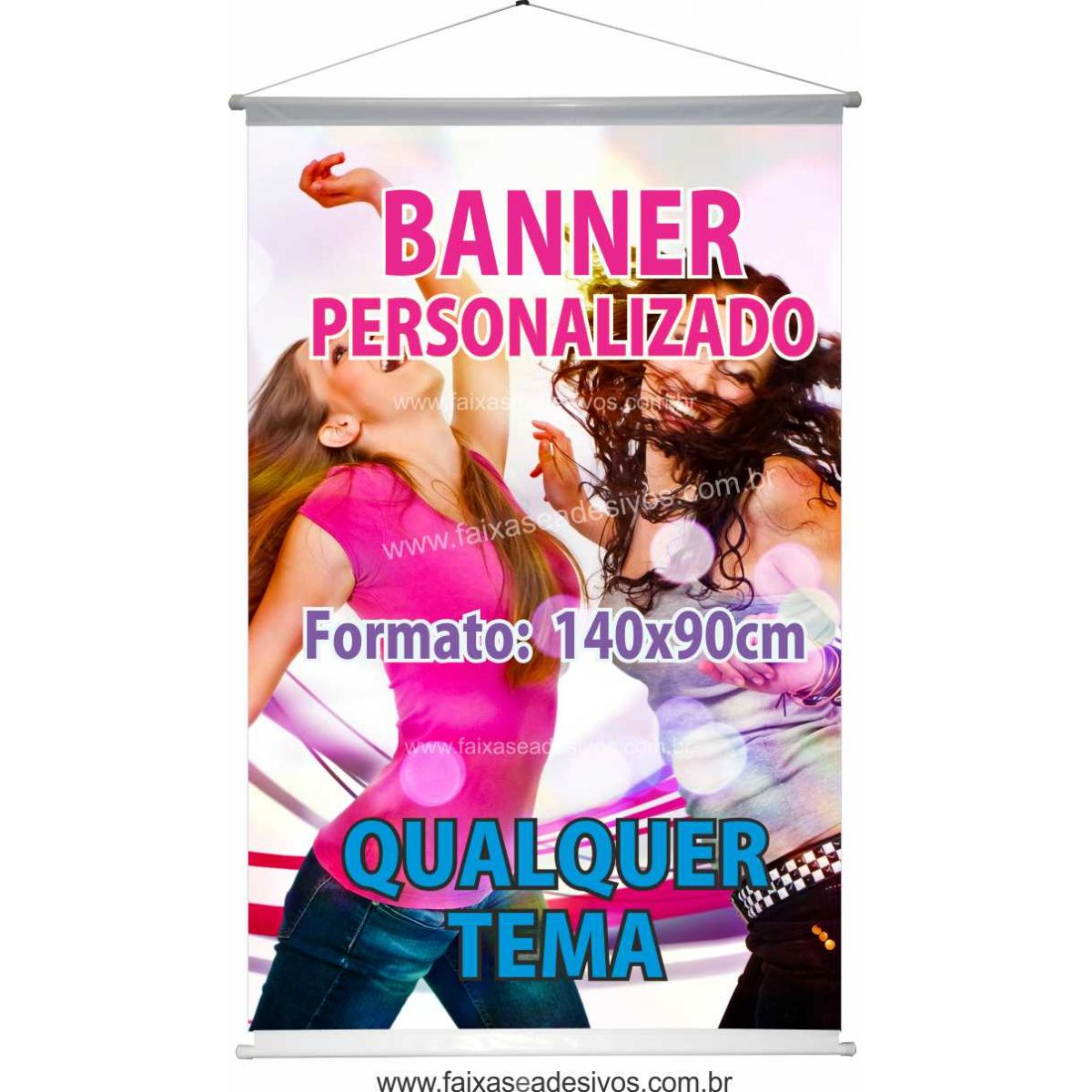 012B - Banner 130x90cm   - Fac Signs