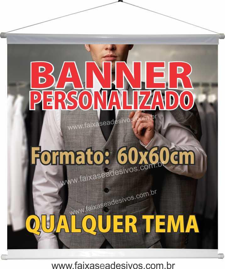 015B - Banner 60x60cm   - Fac Signs