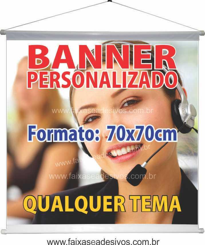 016B - Banner 70x70cm   - Fac Signs