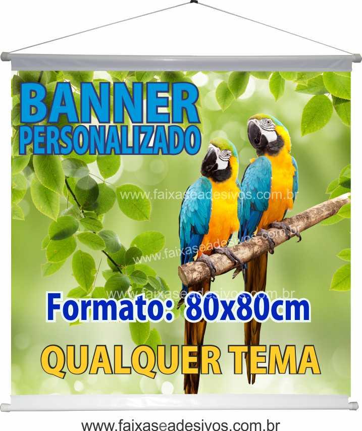 017B - Banner 80x80cm   - Fac Signs