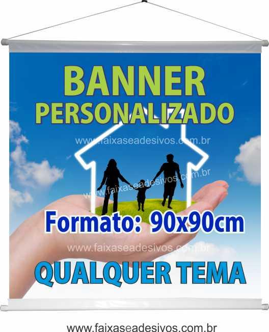 Banner 90x90cm   - Fac Signs