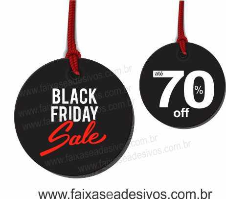 108 - Black Friday Adesivo  - Fac Signs