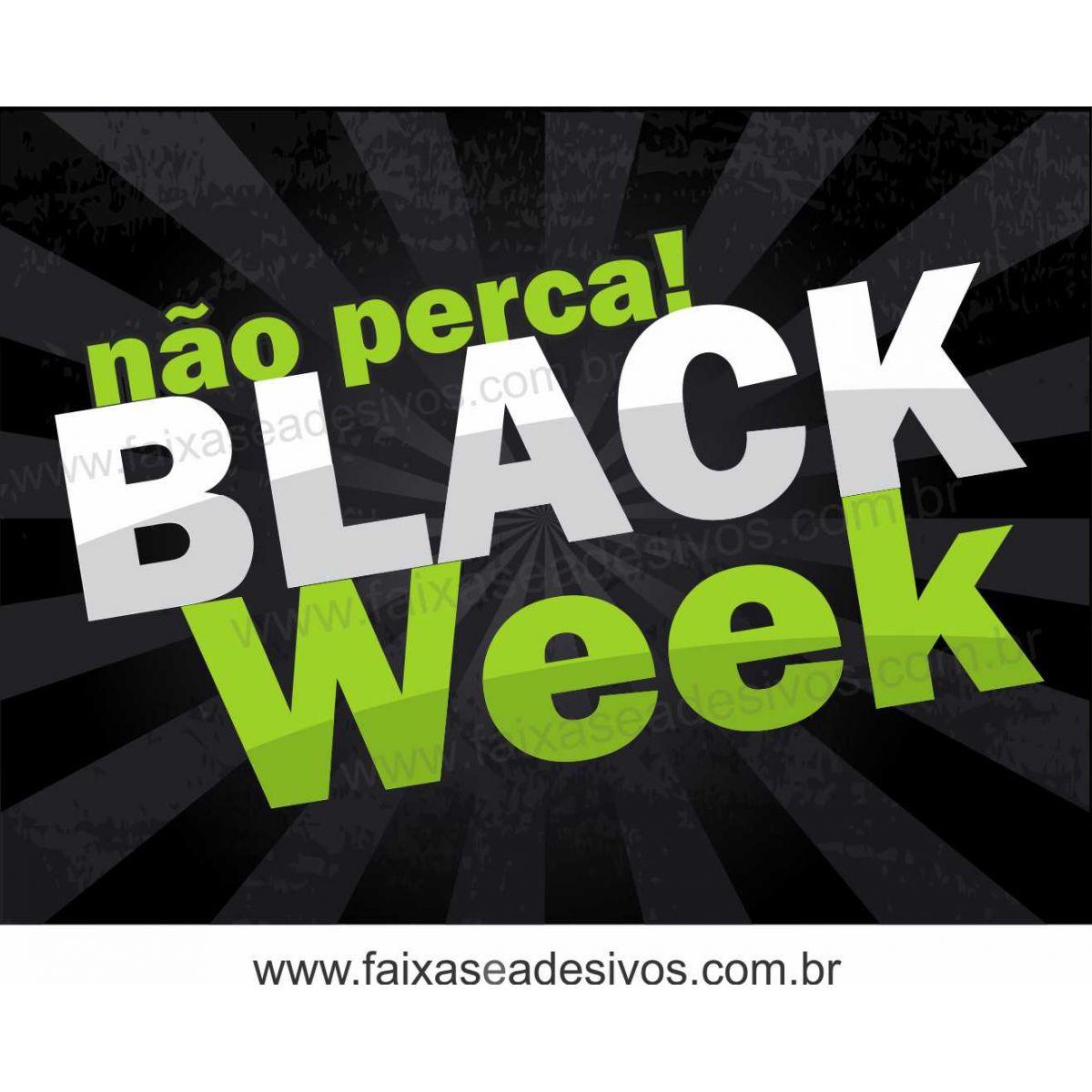 102A - Black Week - Adesivo   - Fac Signs