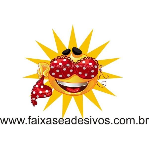 Sol de Lingerie 50x50cm  - FAC Signs Impressão Digital