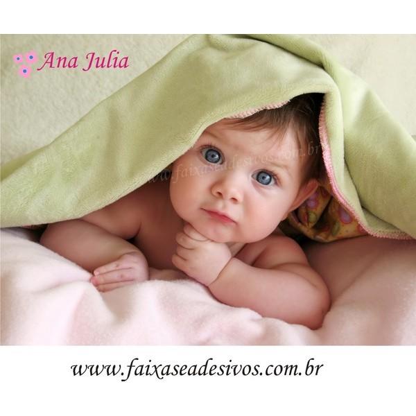 Fotos para Decoração Quarto do Bebê - placa ou adesivo 80x90cm  - FAC Signs Impressão Digital