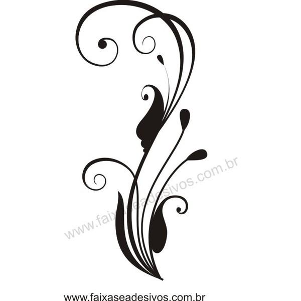 Adesivo decorativo Arabesco 5 - 97x45cm  - Fac Signs