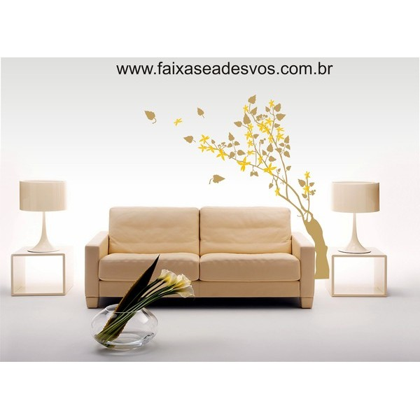 Galho Adesivo Decorativo - 90x50cm  - FAC Signs Impressão Digital