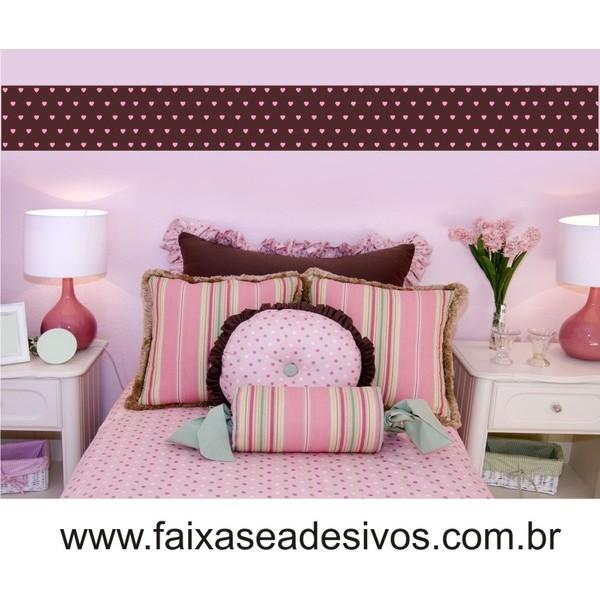 Faixa Adesiva de parede 001 infantil 110x12cm  - FAC Signs Impressão Digital