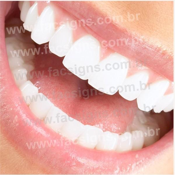 Imagem para Clinica Odontológica  - FAC Signs Impressão Digital