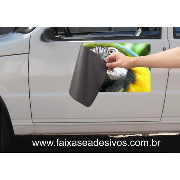 810 - Imã Flexivel para Carro 60x40cm - Envie arte pronta ou solicite a sua! Mais vendido!  - FAC Signs Impressão Digital
