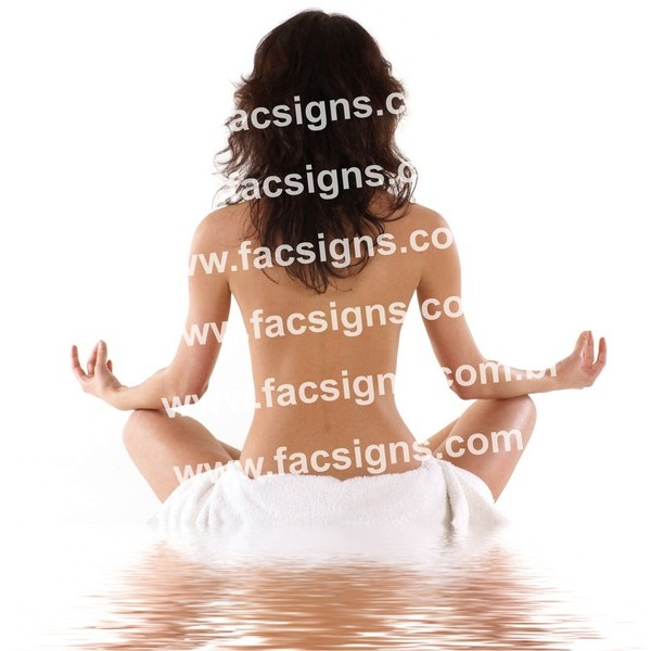 Imagens para Yoga - Arquivo Digital  - FAC Signs Impressão Digital