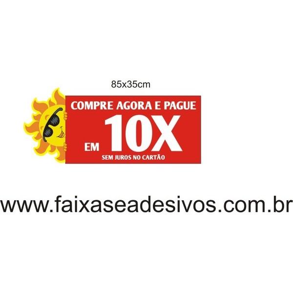 Adesivo sol com óculos 85x35cm  - FAC Signs Impressão Digital