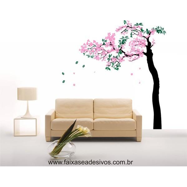 Árvore Primavera Adesivo Decorativo  - FAC Signs Impressão Digital
